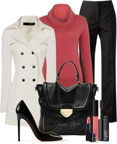 """""""Coral Gorgeous"""" by orysa on Polyvore"""
