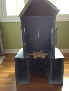 DIY Elsa's Ice Castle Tutorial