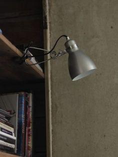 clip light  black, white, brushed aluminium