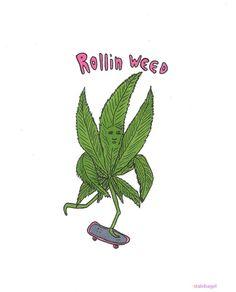 Rollin' weed