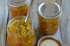 Sweet Pickle Relish is a great addition to turkey and ham sandwiches and obviously grilled hotdogs!!  | mountainmamacooks.com