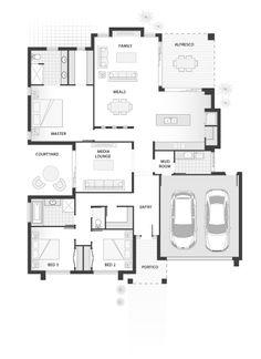 Standard floorplan for The Penn