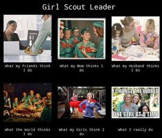 Today is Girl Scout Leader Day! THANK YOU to all our leaders and co-leaders who provide such amazing learning experiences for our girls! We know what you really do :)