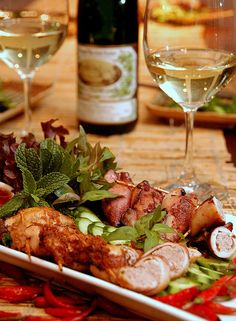 Wine pairings with Asian Food
