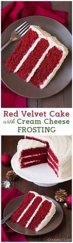 Red Velvet Cake with