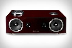 Samsung Audio Dock with AirPlay support