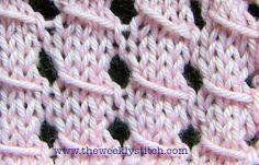 The Weekly Stitch: Slip Stitch Lace