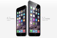iPhone 6 & iPhone 6 Plus #apple #iphone6