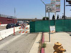 It is not always easy being a pedestrian in LA