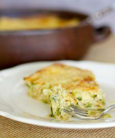 Pastel de Zapallos Italianos / Zucchini Casserole | En mi cocina hoy