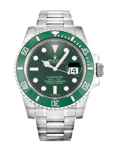 Celebrating the 50th anniversary of the Submariner, #Rolex released this stunning green-bezelled version