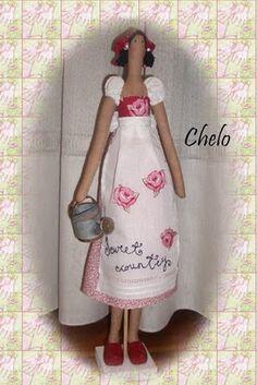 """El rincón de Chelo: Tilda """"Country Girl"""""""
