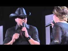 Jason Aldean with Kelly Clarkson
