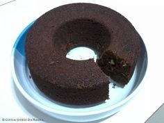 bolo de chocolate integral com leite de soja