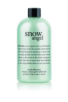philosophy snow angel sweetly fallen shampoo, shower gel and bubble bath 480ml - $30.00