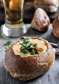 Beer Cheese Soup. | howsweeteats.com