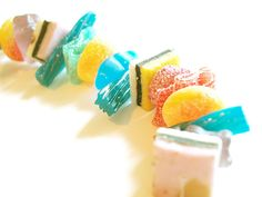 Make these sweet DIY Candy Bracelets
