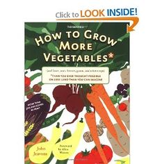 Great book on sustainable and companion vegetable gardening