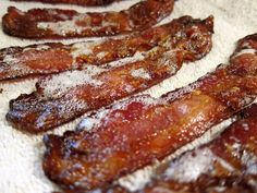 cooking bacon in the oven