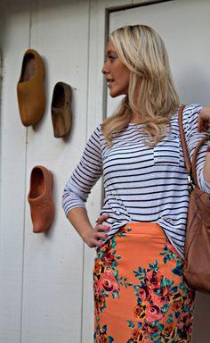stripes & florals @ GBO Fashion
