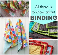 Whether we're talking garments or quilts or accessories or home sewing, sooner or later you run into BINDING! How to make it, how to sew it, how to avoid it - all in this post!