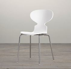 $39 RH Forma Painted Counter Stool, white