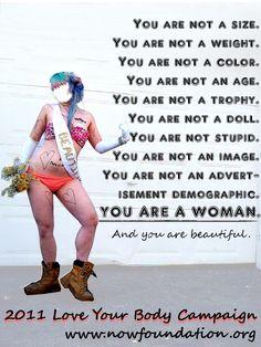 Love Your Body Campaign by ~RabidBallerina on deviantART