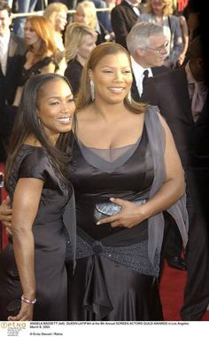 Queen Latifah and Angela Bassett