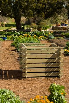 Up-cycled Wood Pallets DIY Compost Bin | A Less Than Perfect Homemaker