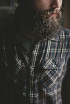 beard. flannel.