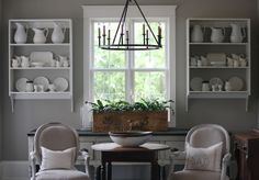 Seaside Interiors: Basement Gets A Fresh Coat of Thunder by Benjamin Moore while we are in a ThunderSTORM of our own!!
