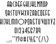 TallDeco font by Thomas E. Harvey - FontSpace