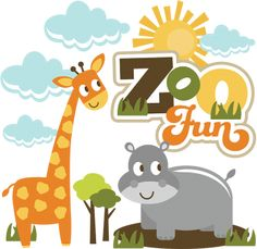 Zoo Fun SVG scrapbook zoo svg files zoo cut files for scrapbooking cute svg cuts free svgs