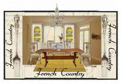 french country kitchen  e-Decor @ www.suburbanrevival.com countri kitchen, kitchen edecor, french country kitchens