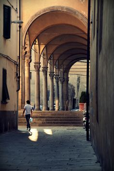 I have dreamed for years of living in Pistoia, Tuscany / Italy