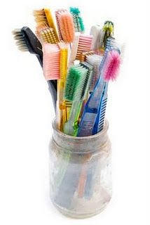 10 uses for toothbrushes, and many more frugal tips
