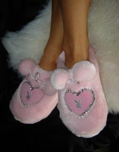 Playboy Bunny Slippers