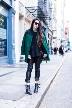 Street style looks from bloggers!