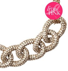 Giuliana Rancic for LOFT Statement Necklace, $69.50 #LOFTPink    25% of the full-price purchase of the necklace will go directly to The Breast Cancer Research Foundation