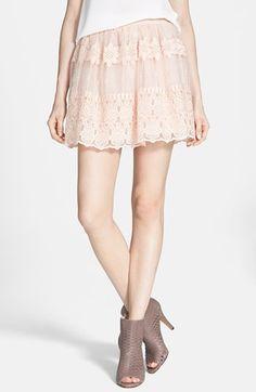 embroidered organza skirt / astr