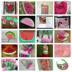 20 Watermelon Crafts