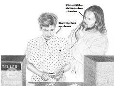 shut the fuck up jesus