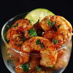 Tequila orange shrimp