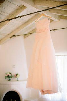 Pink wedding dress: http://www.stylemepretty.com/little-black-book-blog/2014/09/19/elegant-leo-carrillo-ranch-wedding/ | Photography: heidi-o-photo - http://heidiophoto.com/
