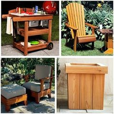 Free DIY Outdoor Furniture Plans on Pinterest | Adirondack Chairs