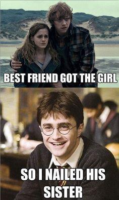 Best friend got the girl…