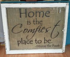 Vintage Window with Winnie the Pooh Quote by BeaDazzledandBeyond, $45.00