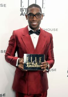 Tinie Tempah Wins UK Recording Artist Male at the ELLE Style Awards