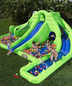 Ultra Croc 13-in-1 Inflatable Water Slide
