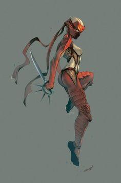 warrior, cartoon charact, 3d character, kunoichi, charact 3d, charact design, character concept, character design, ninjas